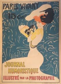 Admond Petitjean : lithographie originale, C. 1900 - 106 x 147 cm - 42 x 58 cm
