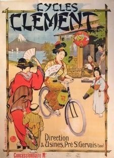 René Leverd : affiche lithographie originale, C. 1895 - 119 x 159 cm